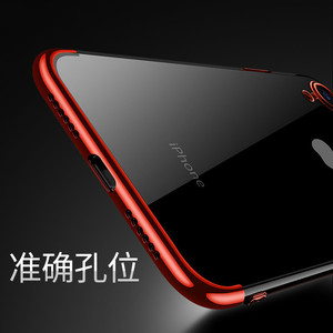 Image 2 - Sumgo soft TPU case for iPhone X Xr Xs Max cases ultra thin transparent plating shining case for iPhone Xs Mixed silicon cover
