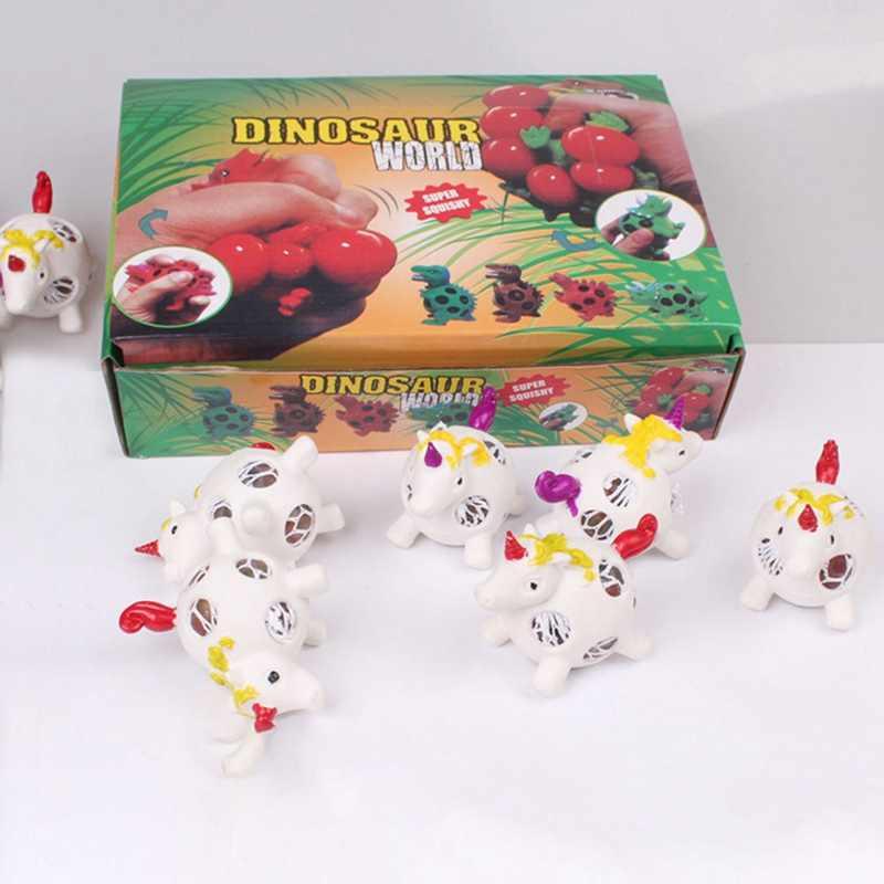 1 шт Новый Забавный антистресс Виноградный Шар Единорог ручной зажим детская маленькая игрушка-случайный стиль