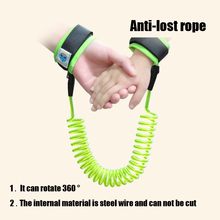 Child Anti-lost Rope Spiral Handcuffs Colorful Elasticity Of Wire Material Parent-child Toy For Kids Cosplay Police Toys Baby