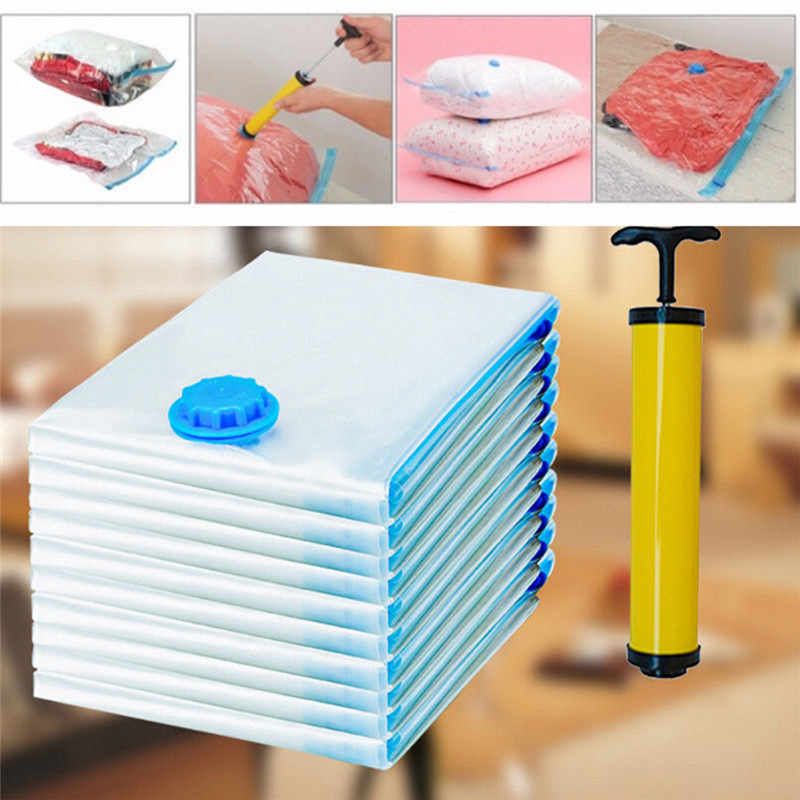 Heavy Duty Large Vacuum Seal Storage Bag Space Saving Cloths Travel Bedding compress package travel outdoor lose weight