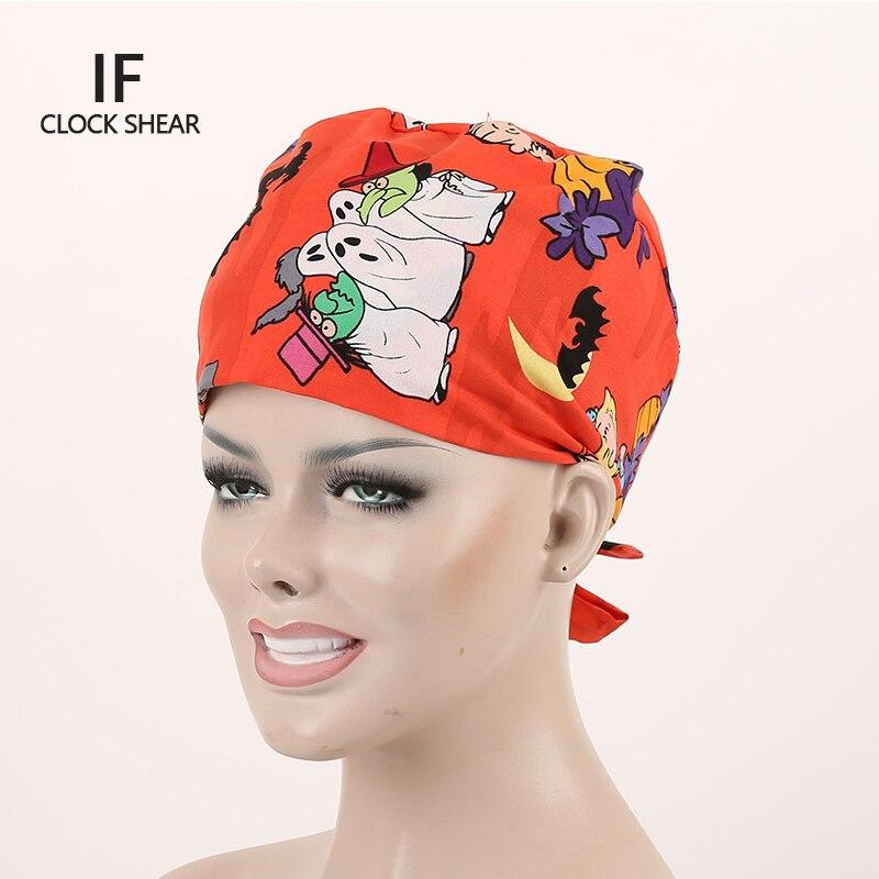IF hot sale cotton Pet doctor hat men and women beauty salon work cap Operating room hat doctor nurse dental caps