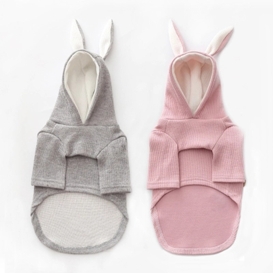 Puppy Dog Clothes Cute French Bulldog Autumn Schnauzer Teddy Bear Costumes Small Dog Hoodie Vetement Chien Pet Sweatshirt 50WY01 in Dog Hoodies from Home Garden