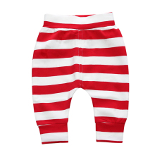 Unisex Cotton Striped Elastic Waits Pants