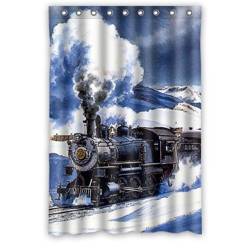 High Quality Vintage Design Print Beautiful Scenery Train Photo ...