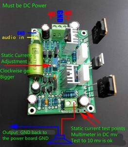 Image 3 - لوحة مضخم صوت HIFI K851 MPSA56 MPSA06 لوحة مضخم صوت لتأثير المجال الحالي الكبير 125 وات قطعتان