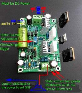 Image 3 - Placa amplificadora K851 HIFI, MPSA56, MPSA06, placa amplificadora de tubo de efecto de campo de gran corriente, 125W, 2 uds.