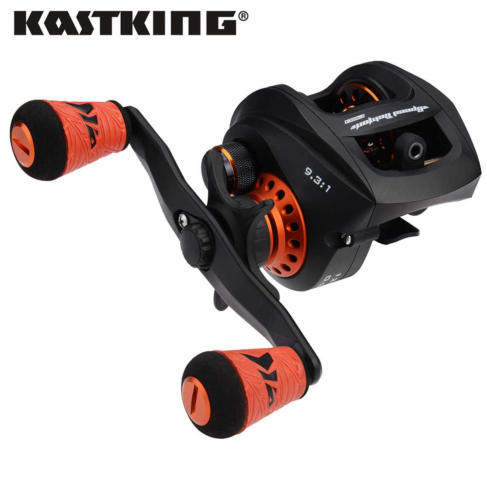 KastKing Speed Demon Pro Baitcasting Reel High Speed 9.3:1 Gear Ratio Super Light Carbon Fiber Casting Fishing Reel