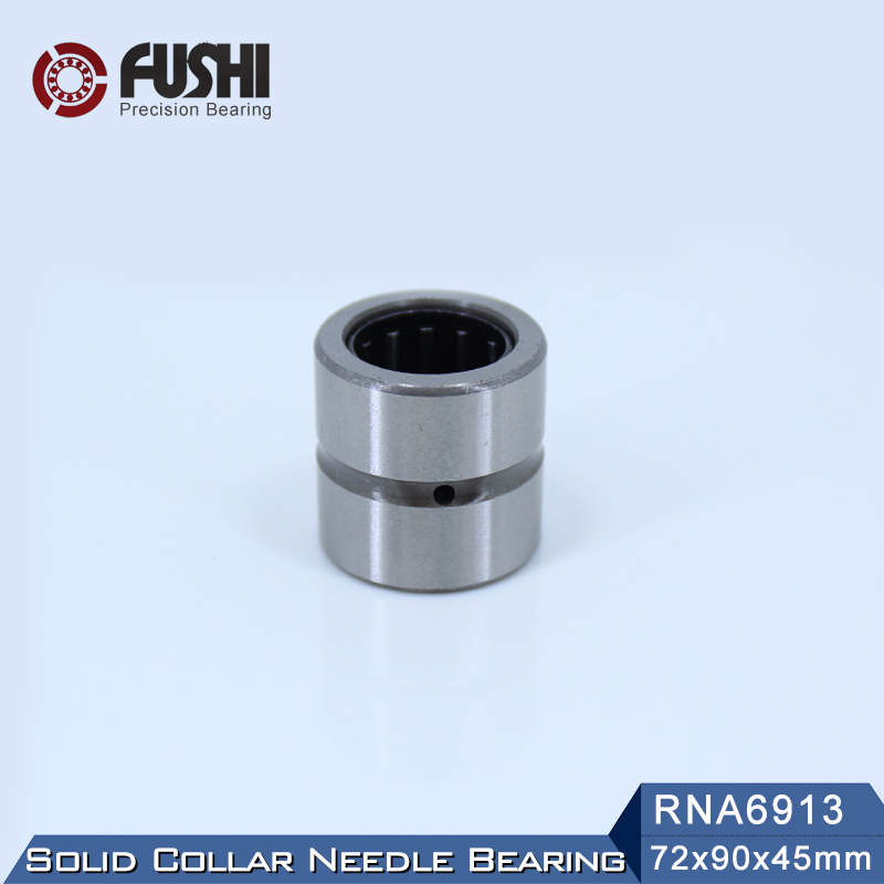 RNA6913 Bearing 72*90*45 mm ( 1 PC ) Solid Collar Needle Roller Bearings Without Inner Ring 6634913 6354913/A Bearing sce2020 bearing 31 75 38 1 31 75 mm 1 pc drawn cup needle roller bearings b2020 ba2020z sce 2020 bearing