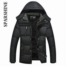 Warm Winter Thicken Mens Hooded Coat Jacket Men's Outerwear Homme Soft Comfortable Men Jackets And Coats 2016 Sale