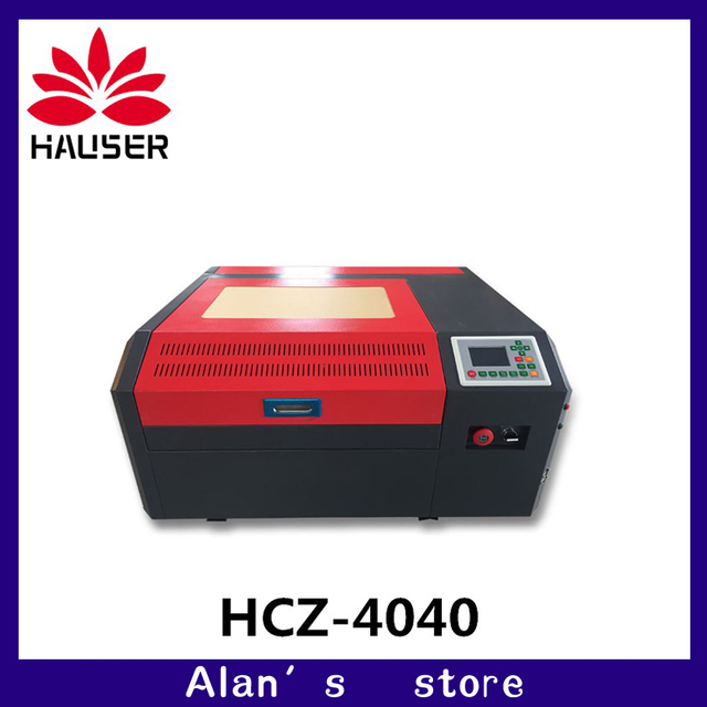 Máquina de grabado láser Co2 4040 de 50W para cortar madera contrachapada, madera, MDF, acrílico, cristal, vidrio, papel, plástico, plexiglás