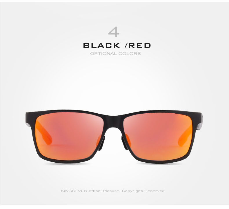 2017 New KINGSEVEN Polarized Sunglasses Men Brand Designer Male Vintage Sun Glasses Eyewear gafas oculos de sol masculino N7180 11