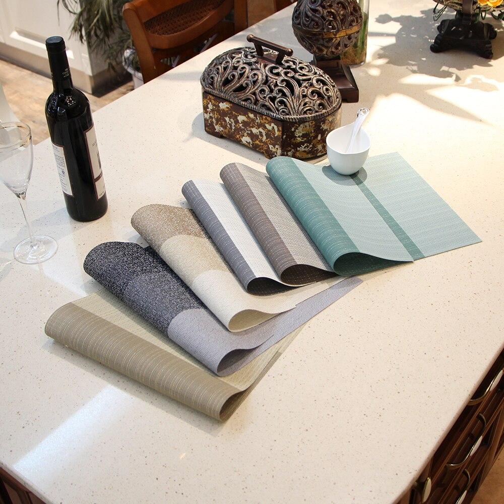 3 Pcs/lot Environmental protection Japanese linen fashion thickening, insulation, non slip table mat, coasters, bowl mat
