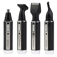4 In 1 Personal Waterproof Rechargeable Electric Men Male Ear Nose Trimmer Hair Clipper Shaver Beard
