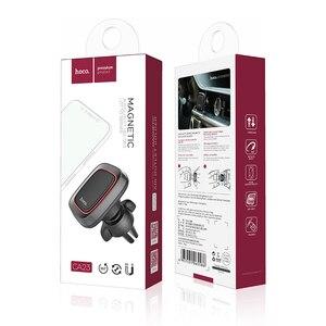 Image 5 - HOCO Support magnétique de téléphone portable de voiture Support magnétique prise dair Support 360 degrés GPS Support de Smartphone pour iPhone Samsung