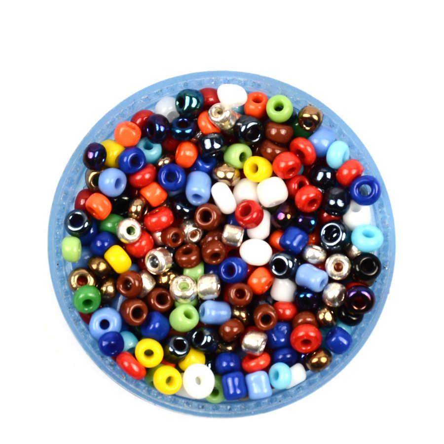 14,5 г/лот 3 мм 500 шт конфеты стеклянные цветные бусины для изготовления ювелирных изделий Kralen чешские бусины ручной работы/DIY Аксессуары для рукоделия