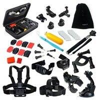 Husiway Bike mount para gopro cámara sj5000 accesorios para xiaomi correa para la muñeca palo autofoto para go pro héroe 4 Accesorios 16B