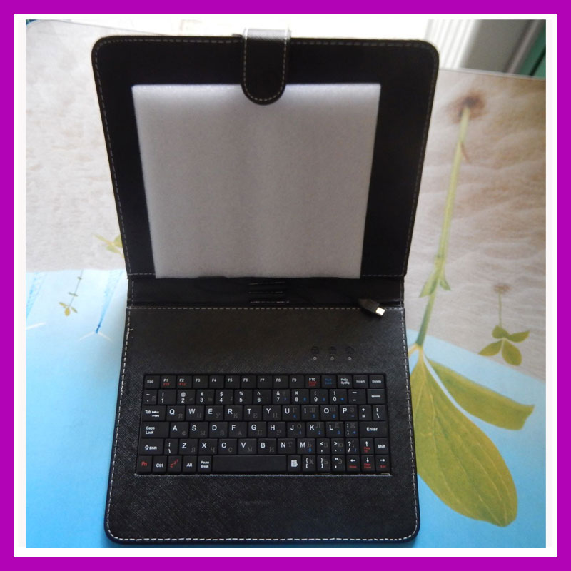 Más nuevo micro ruso caja del teclado del USB para 10.1 pulgadas N9106 A101 MTK6582 MTK6572 Tablet