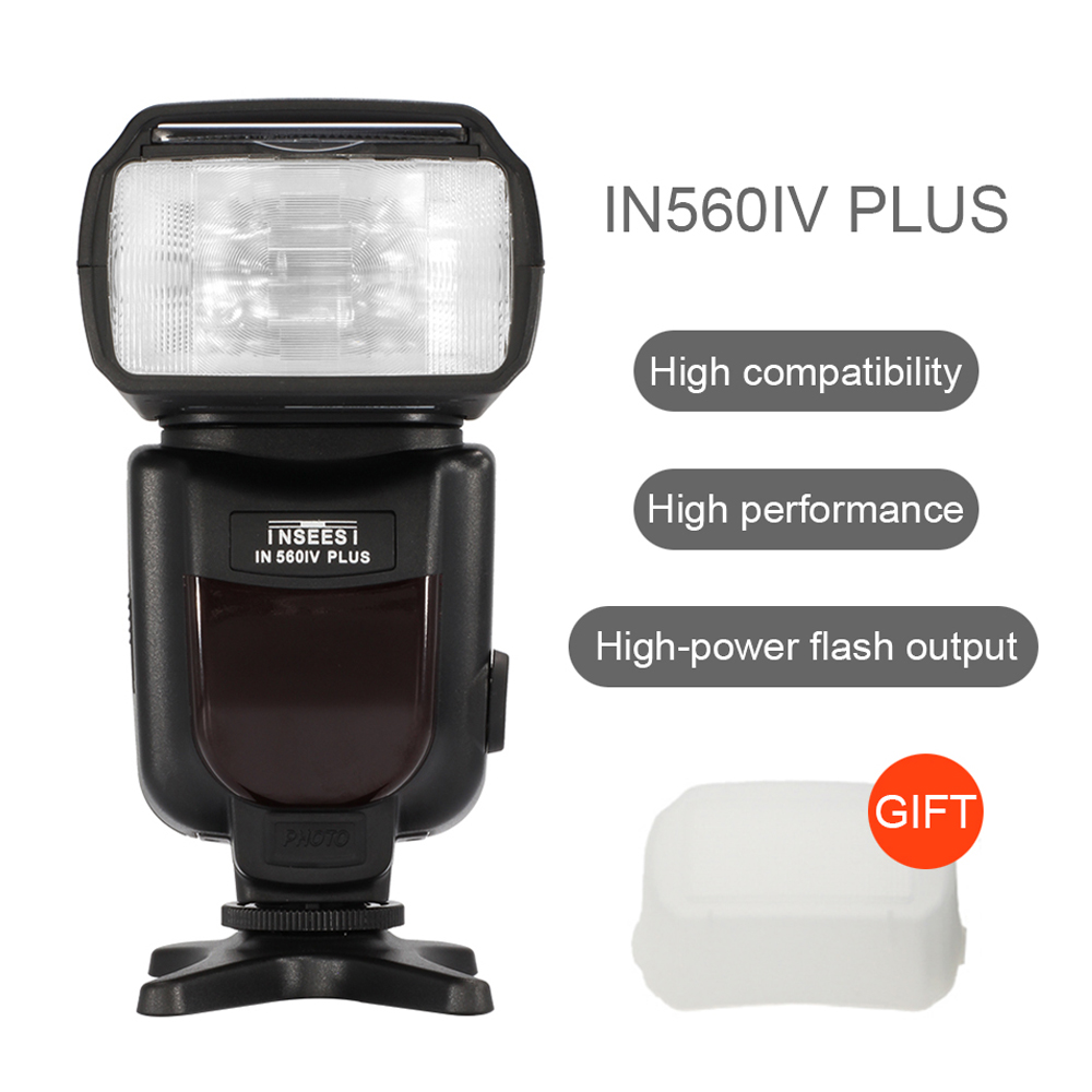 PIXEL Universal Wireless Flash Speedlite Light Support S1 S2 INSEESI IN560IV PLUS For Nikon Canon 650D