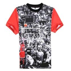 2015 new arrival men t shirt short sleeve jordan pattern man tshirts men s o neck.jpg 250x250