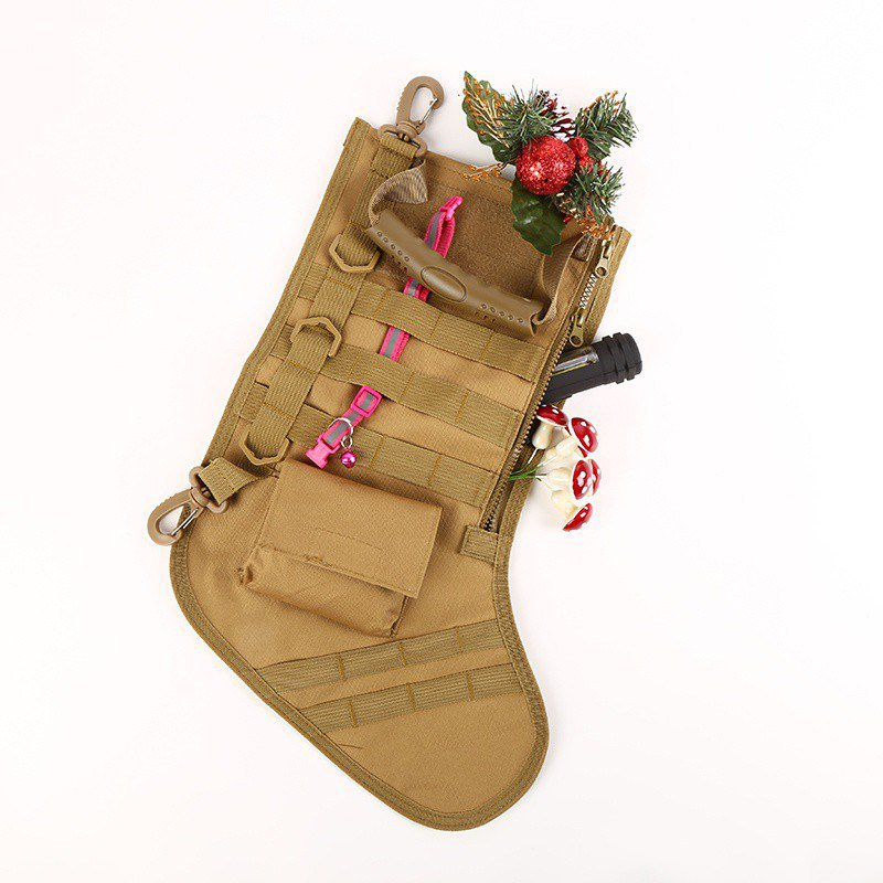 Hanging Tactical Molle Christmas Stocking Bag Dump Drop Pouch Utility Storage Bag Military Combat Hunting Magazine Pouches Pouches    - AliExpress