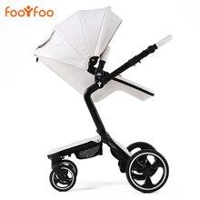 European Luxury Baby Stroller 2 in 1 High View Prams Folding Baby Carriage Poussette Kinderwagen bebek arabas