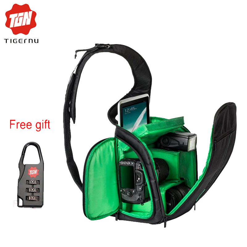 2017 Tigernu Fashion SLR Sling Bag Camera Backpack Bag to Camera Brand Photography Camera Video Bag Photo DSLR Sling Camera Bag