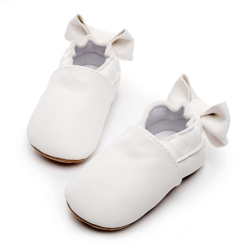 WEIXINBUY PU Leather Baby First Walker Shoes Soft Leather Baby Girl Moccasins Infant Baby Shoes