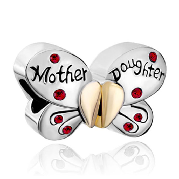 Mom And Daughter Pandora Charm