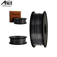 ANET ABS 1.75mm 1Kg/spool Plastic Staaf Rubber Lint Verbruiksartikelen Materiaal Vullingen voor RepRap/UP/Mendel 3D Printer Filamenten