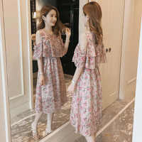 Summer Pregnancy Nursing Dress for Pregnancy Woman Party Maternity Breastfeeding Clothes Elegant Office Lady Maternity dress