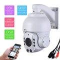 507-20XA áudio 1.3MP HD 960 P 20 Zoom Outdoor Mini Speed Dome PTZ Onvif IR-CUT Rede IP Câmera de Segurança de Alumínio Houseing