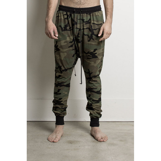 9e933309f Calle Moda Hombre Slim Fit Hombre de Camuflaje Pantalones Deportivos  Pantalones Basculador Hip Pop Hombre de