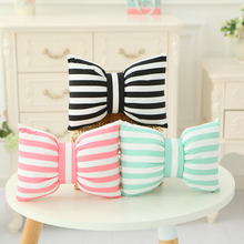 INS Cloth Bowknot Toy Lovely Pillow Cushion  for Girls and Valentines Day Gifts Detachable Wash NTDIZ0216