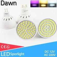 Lâmpada led ponto lâmpada led 3w 4 5 dc 12v ac 220v 240v e27 mr16 gu10 crescer luz bombillas lampada lampara holofotes iluminação