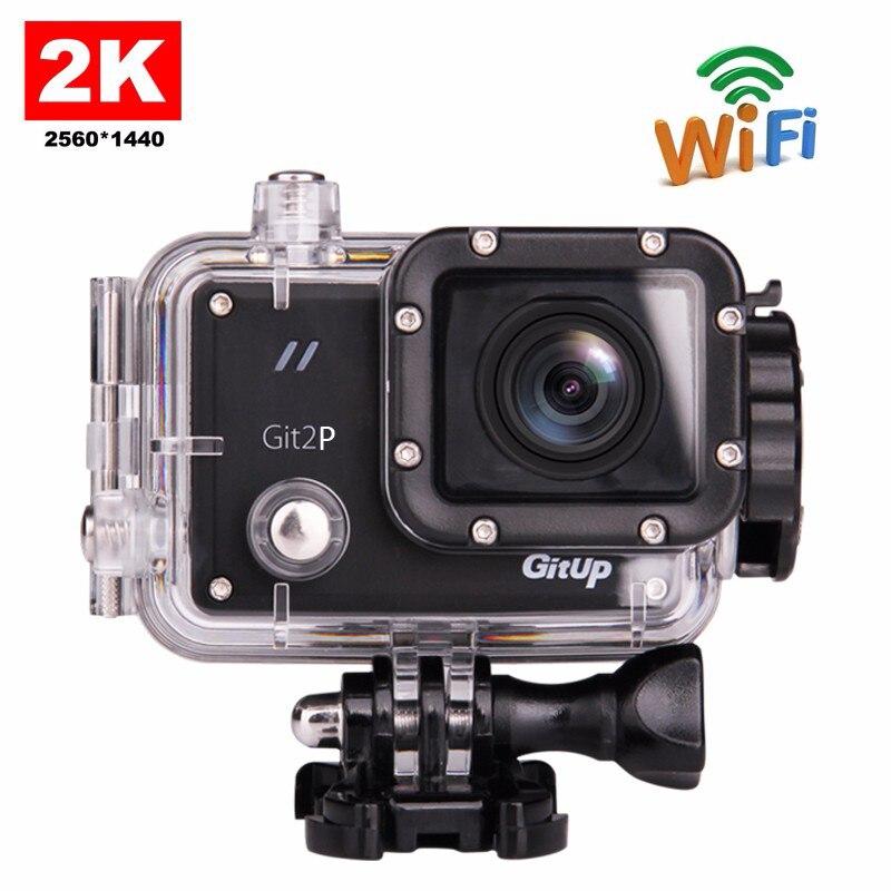 D'origine GitUP Git2P Pro Emballage G-Capteur Full HD 2 K 1080 p 60fps Pour Panasonic MN34120 16MP Capteur Wifi Sport Action Caméra