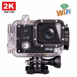 Original GitUP Git2P Pro Packing G-Sensor Full HD 2K 1080p 60fps For Panasonic MN34120 16MP Sensor Wifi Sports Action Camera