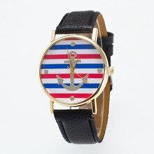woman watch 2019 Fashion Casual Leather Creative Watch Women Dress Sport Sailor Quartz Wrist Watches Ladies Clock reloj mujer цена