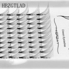 جديد 10D الروسية حجم الرموش تمديد قصيرة الجذعية قبل صنع المشجعين C D حليقة المنك لاش الساخن بيع رمش ملحقات الفردية
