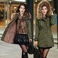 Doudoune Femme grande Promoção Mulheres Jaquetas Casacos de Inverno 2015 Da Marca Para Baixo Casaco Casaco de Inverno Outwear Sobretudo Chaquetas Mujer 9009