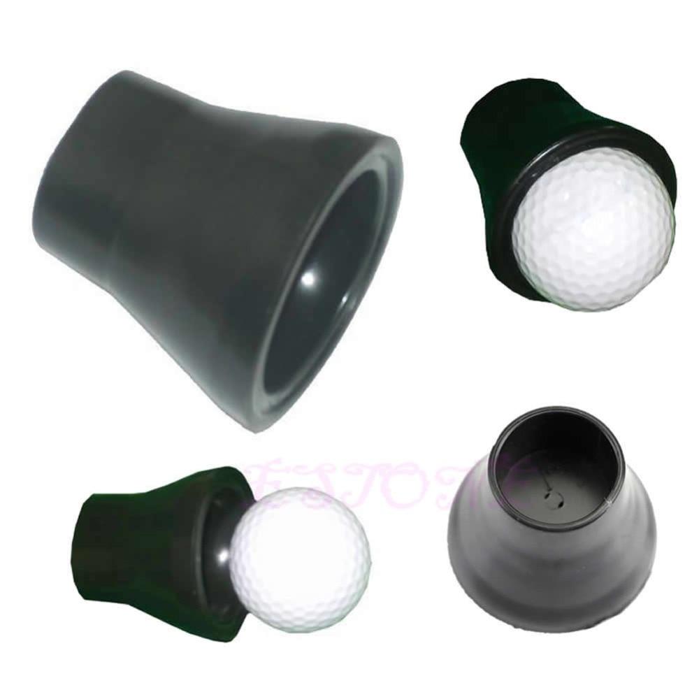 Golf tees Lightweight Plastic Golf Tee Ball Pick Up Suction Cup Picker For Caddy Sucker Retriever Putter Grip