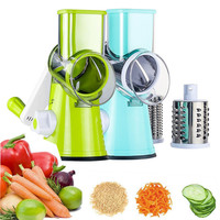 Vegetable Cutter Slicer Cheese Rotary Grater Fruits Shredder Carrots Pecans Salad Grinder Kitchen Gadgets Tools Manual Chopper