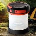 Potencia De La Lámpara LED Linterna Camping Solar plegable portátil Con Cargador de teléfono Móvil Bajo/Alto/SOS Modelo Acampar Al Aire Libre doble Iluminación