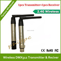 2 .4G Professional 2.4G DMX512 DJ Wireless System transmitter and receiver  Controller