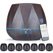 Увлажнитель воздуха ультразвуковой с ароматизатором и светодиодной