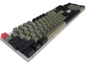 Image 3 - Oem perfil de teclado para cherry mx, boneca fria de jazz preto e cinza misto com pbt 108 87 61 adicionar chave de mac do iso