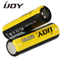 100 Original IJOY 20700 3000mAh High Drain Rechargeable Battery 40A For Most 20700 Regulated And Mechanical
