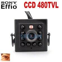 480TVL CCD Mini CCD CAMERA Invisible 10pcs IR 940NM 0 lux Night Vision camera CCTV mini Camera Black infrared lamp mini ir cam