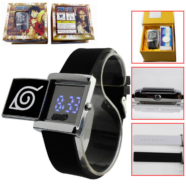 Titan Anime Electronic Wrist Watch with Cool Led