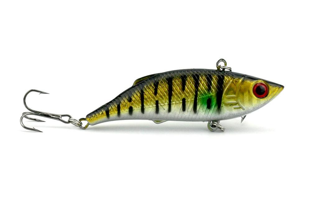6 copë 8cm-11.8g Peshkim i fortë plastike VIB Lures Tingëllim - Peshkimi - Foto 3