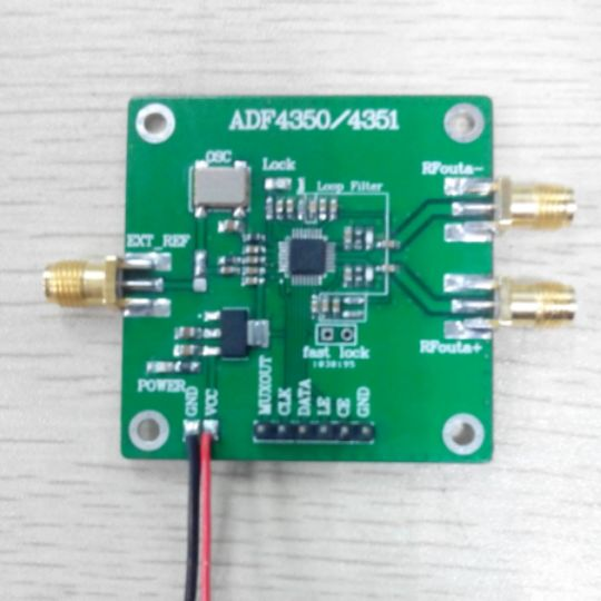 ADF4350 ADF4351 PLL PLL RF signal source frequency synthesizer adf4350 adf4351 development board 35m 4 4g rf source sweep frequency source pll development board
